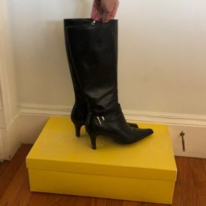 Joan and David Heeled Boots